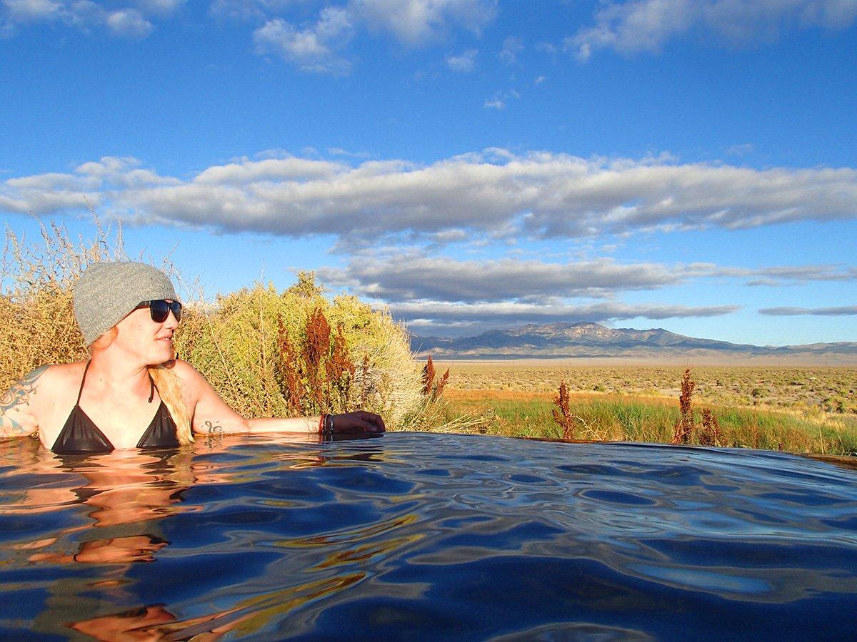 Ellen in Spencer Hot Springs